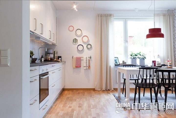 北欧风格厨房效果图 北欧风格橱柜设计图