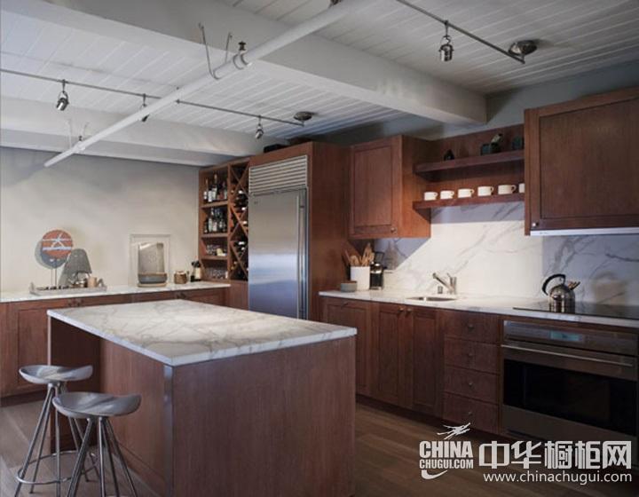 新古典风格厨房效果图 新古典整体橱柜图片