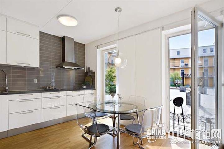 厨房整体橱柜效果图 整体橱柜图片