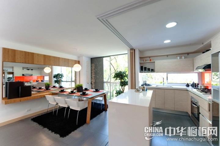 厨房餐厅装修效果图 家庭餐厅设计效果图