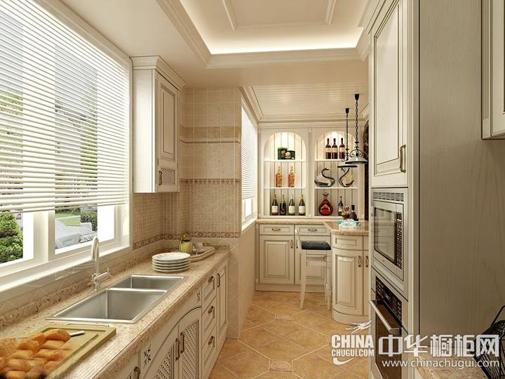 厨房隔断效果图 欧式橱柜效果图