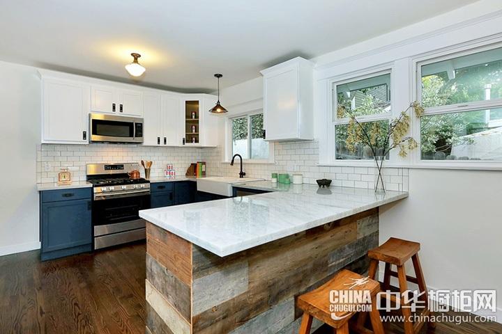 简约风格厨房装修设计图 简约橱柜设计图