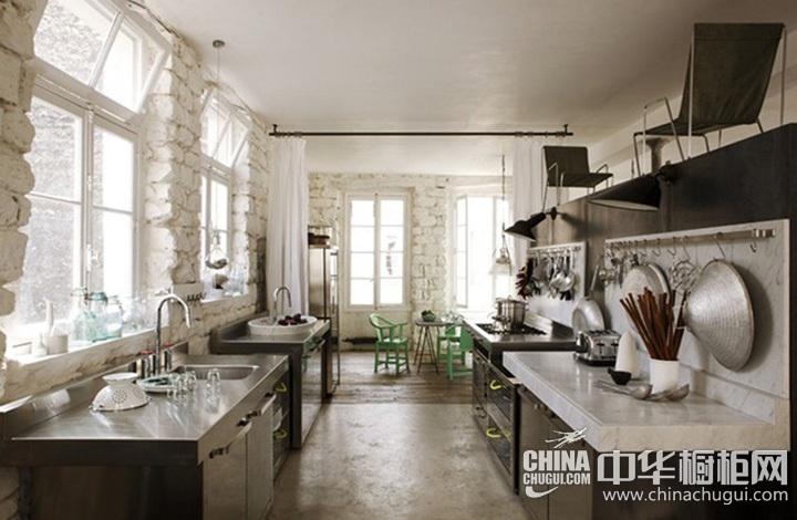 开放式厨房装修效果图 开放式整体橱柜图片