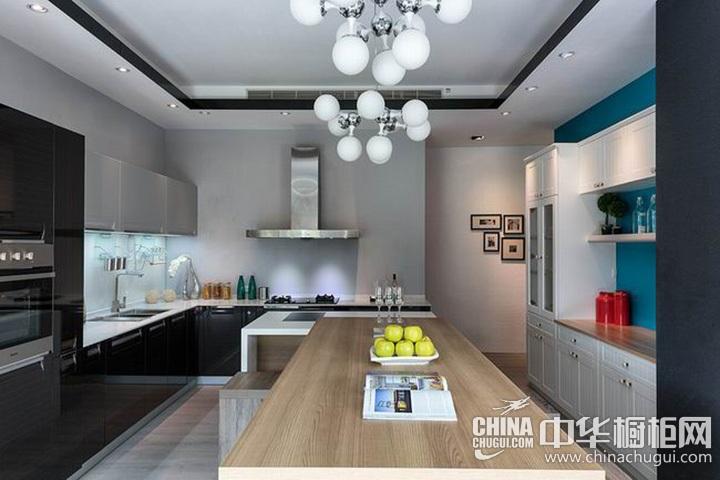 厨房餐厅装修效果图 厨房装修效果图大全