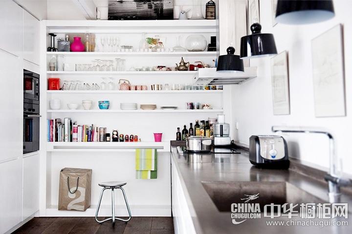 北欧风格厨房效果图 北欧简约橱柜图片