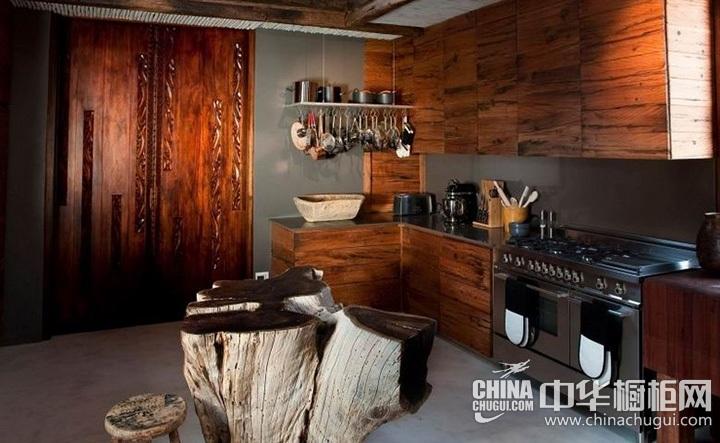 现代简约橱柜效果图 建业时尚厨房装修效果图