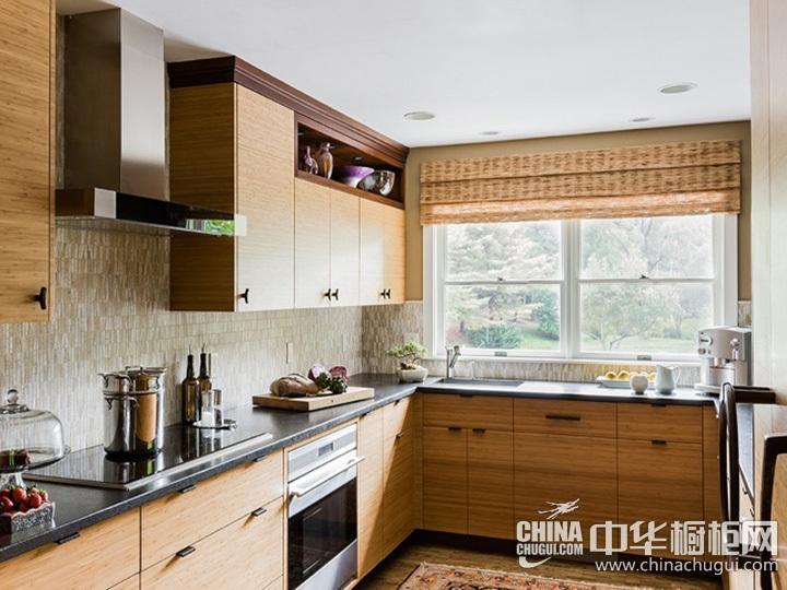L型厨房设计图 L型橱柜图片