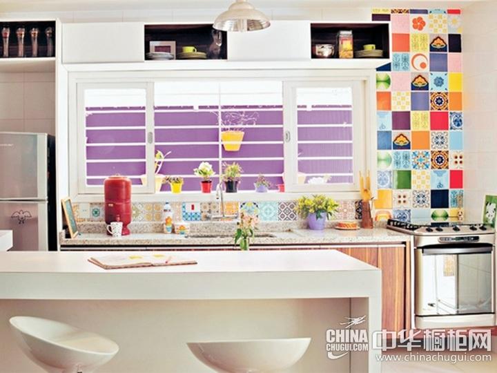 乡村田园风格橱柜装修效果图 田园风格厨房图片