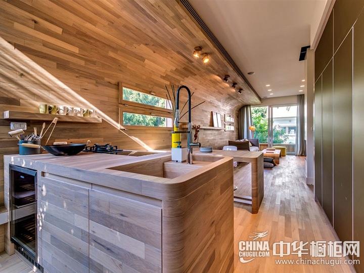 木质橱柜效果图 木质橱柜图片