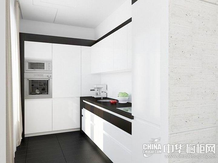白色橱柜效果图 白色橱柜设计图