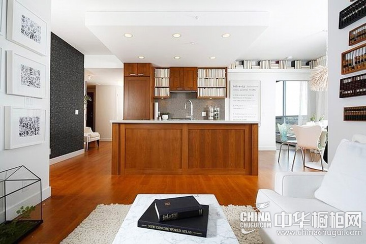 开放式厨房装修效果图 开放式厨房图片