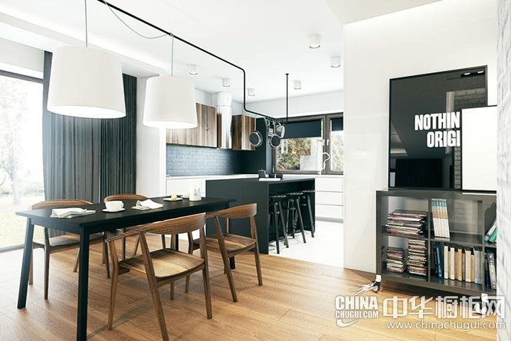 厨房餐厅装修效果图 家装餐厅设计效果图