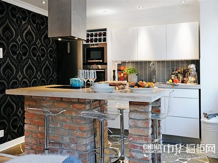 现代简约橱柜效果图 简约主义厨房图片