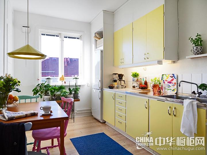 田园风格橱柜设计效果图 田园厨房装修图片