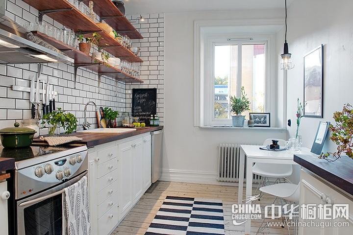 北欧风格厨房装修效果图 北欧风橱柜图片