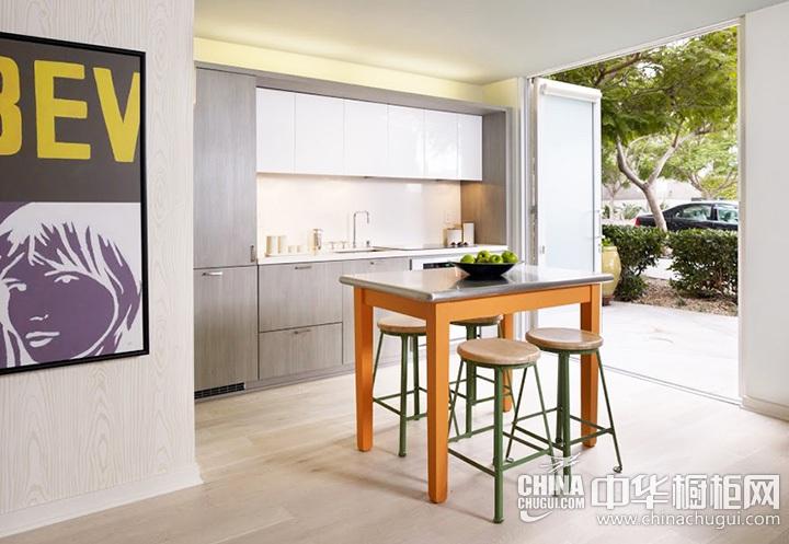 开放式厨房装修效果图 开放式厨房效果图