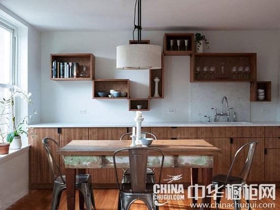 餐厨一体化设计案例 演绎餐厅厨房装修的完美结合