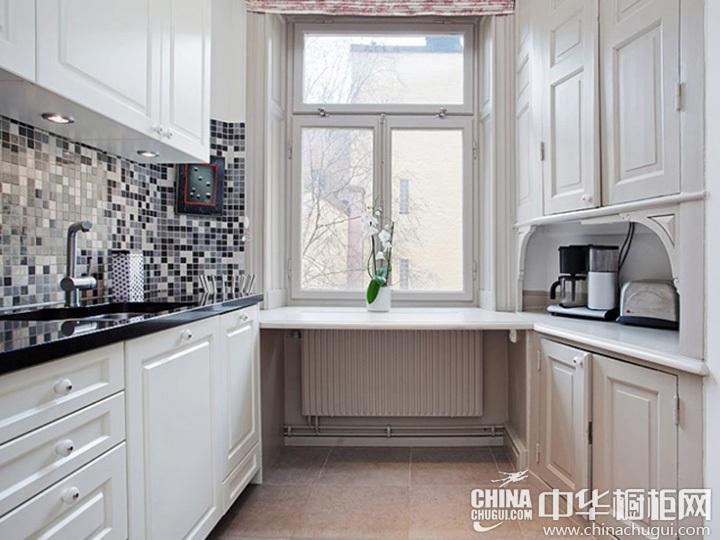 欧式厨房装修效果图 欧式风格厨房效果图