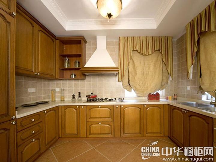 中式橱柜效果图 中式风格橱柜图片