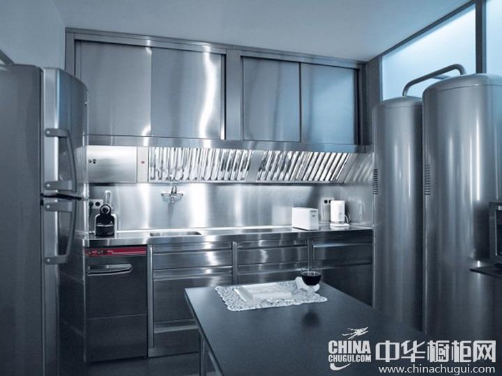 工业风格橱柜效果图 工业风厨房图片