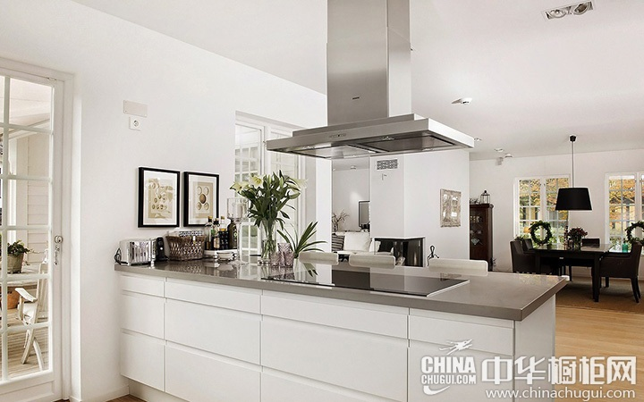 现代简约橱柜效果图 现代简约风格厨房设计图