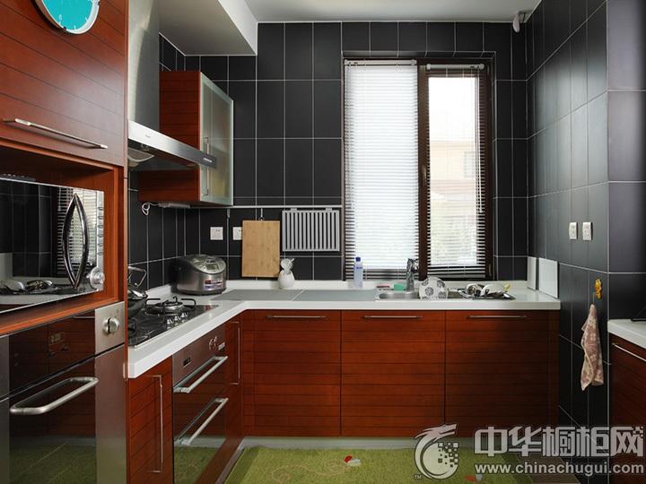 L型厨房装修效果图 L型橱柜图片