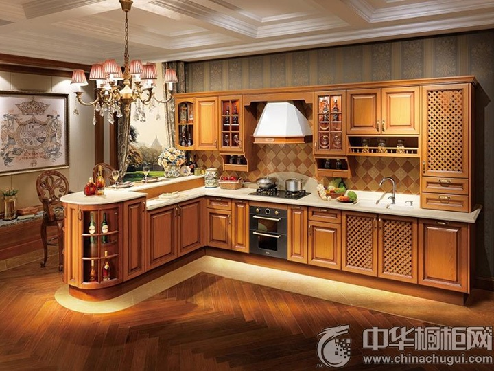 古典橱柜设计图 古典实木橱柜图片