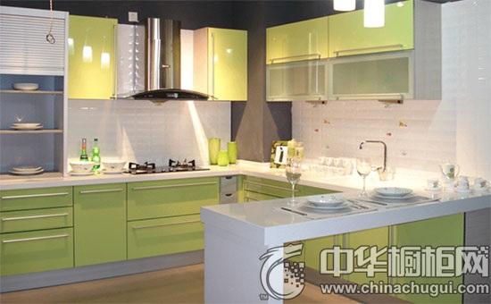 绿色橱柜设计效果图鉴赏 尽享纯粹清新之美