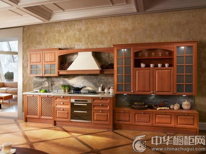新古典橱柜效果图 古典实木橱柜图片