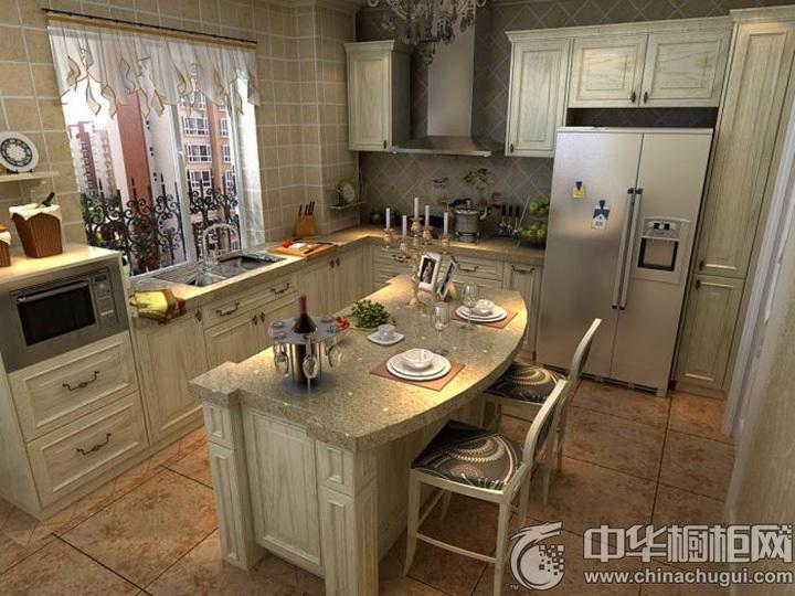 欧式橱柜效果图 欧式风格厨房图片