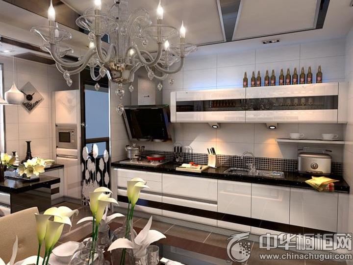 厨房整体橱柜效果图 整体厨房效果图
