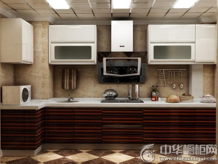 L型厨房装修效果图 L型厨房图片