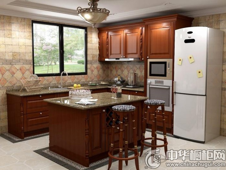 古典风格厨房图片 古典风橱柜图片