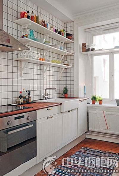 八款时尚整体厨房设计 小户型厨房装修必备_中华橱柜网
