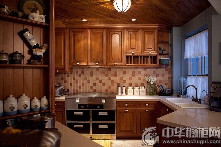 古典风格橱柜设计效果图 古典风格厨房效果图