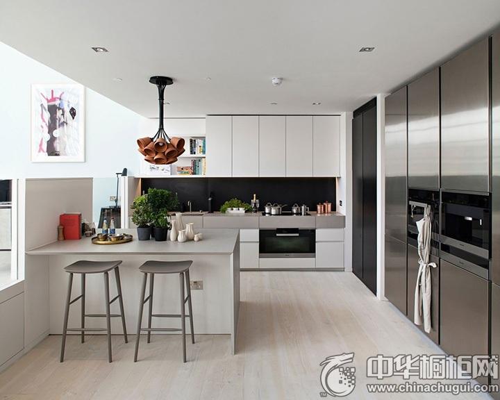 开放式厨房效果图 开放式厨房装修效果图大全