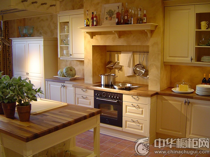 一字型厨房装修效果图 一字型橱柜图片