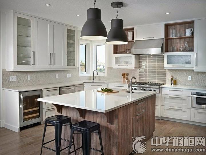 厨房间装修效果图 厨房装潢效果图
