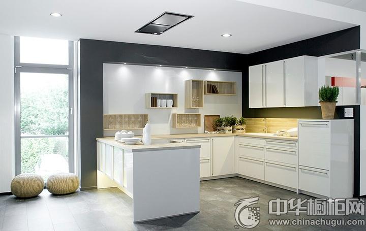 现代简约风格厨房设计图 简约风格橱柜设计效果图