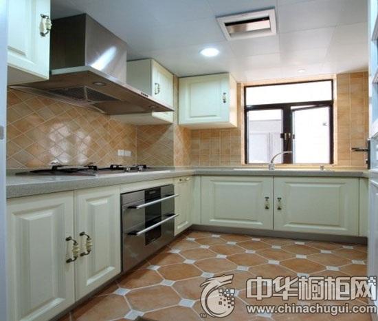 婚房装修案例 欧式风格厨房爱意满满