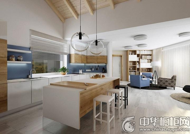 厨房吊顶装修效果图 厨房整体橱柜效果图