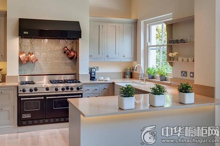 北欧简约橱柜图片 北欧风格厨房装修图片