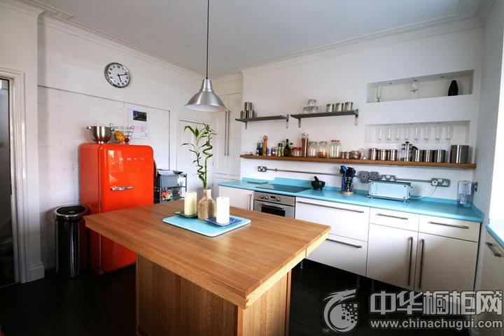 一字型厨房装修图片 一字型橱柜设计图