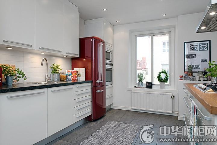 北欧风格橱柜设计效果图 北欧风格厨房效果图