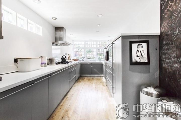 L型橱柜设计图 L型厨房图片