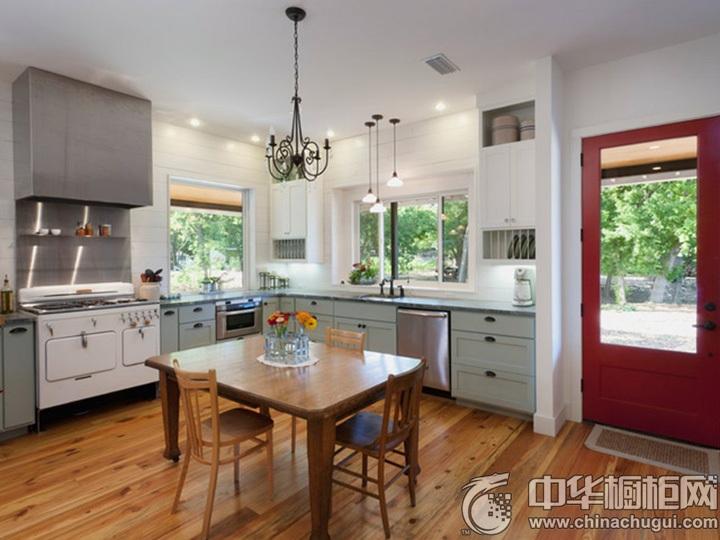 L型厨房设计图 L型厨房效果图
