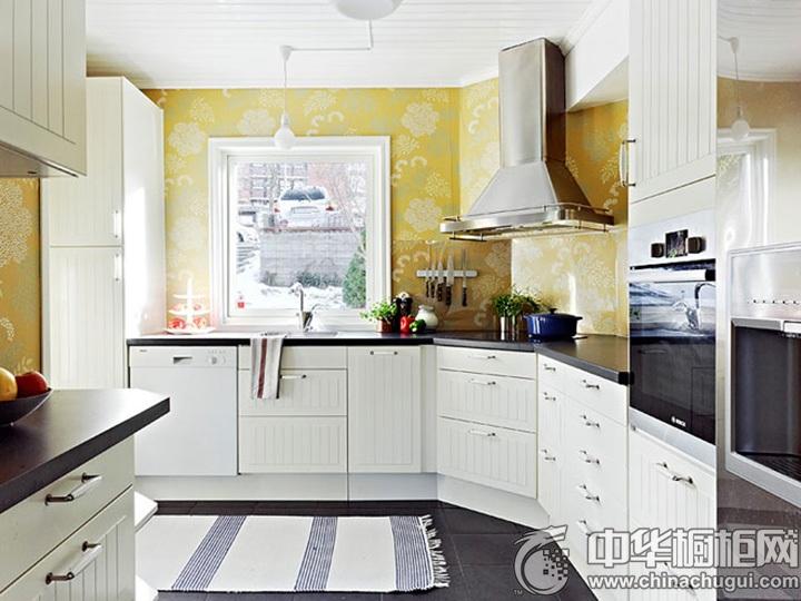 欧式橱柜效果图 厨房橱柜图片