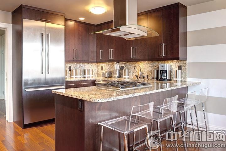 U型厨房装修效果图 U型厨房设计图