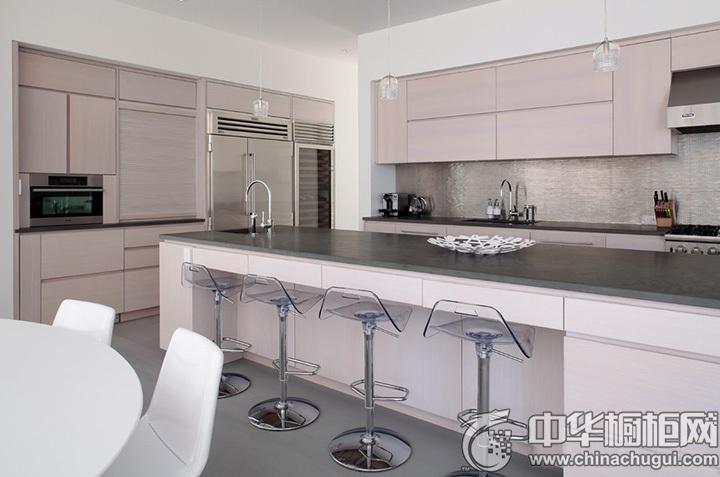现代简约橱柜效果图 现代风格厨房装修图片