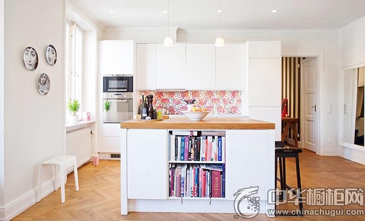开放式厨房装修效果图 开放式橱柜设计图